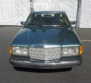 1984 Mercedes-Benz 300 CD Turbo Diesel Coupe.
