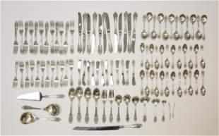 Wallace Grande Baroque Sterling Silver Flatware.