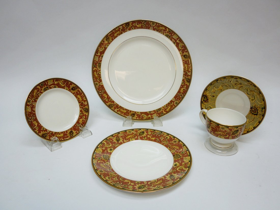 "Wedgwood ""Persia"" Bone China Dinner Service."
