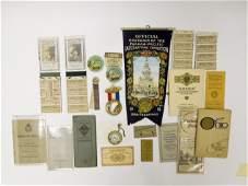 1915 San Francisco Pan Pacific Exposition Memorabilia