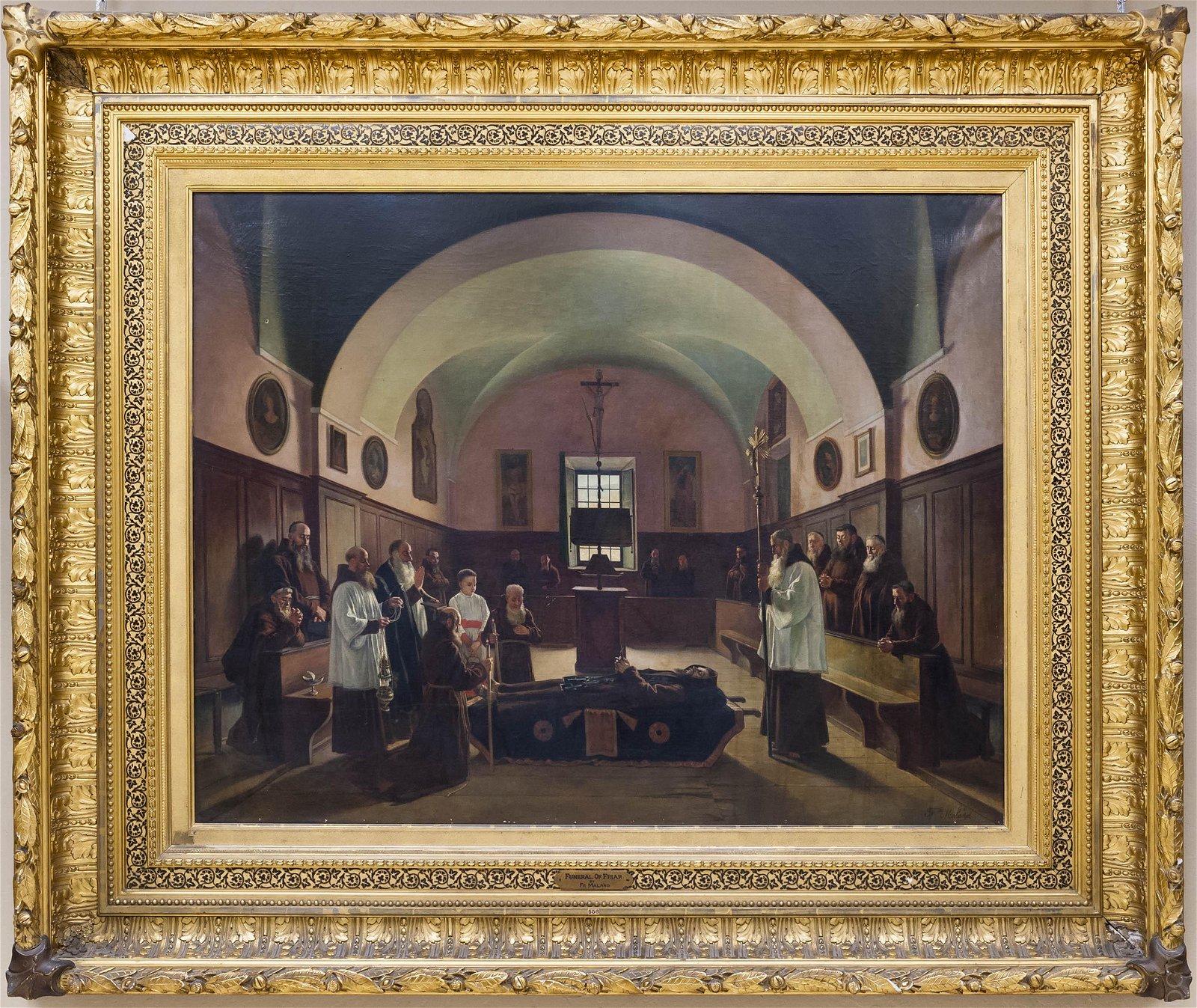Felix Malard, Funeral of Friar.