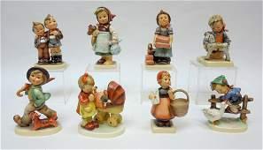 (8) Hummel Figurines in Original Boxes.