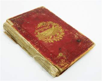 Autograph Book, 1860s - Early 20th C. Various