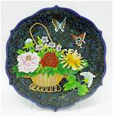 Japanese Cloisonne Charger.