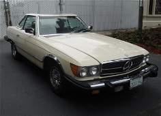 1983 Mercedes-Benz 380SL 2-Door Hard Top Convertible.