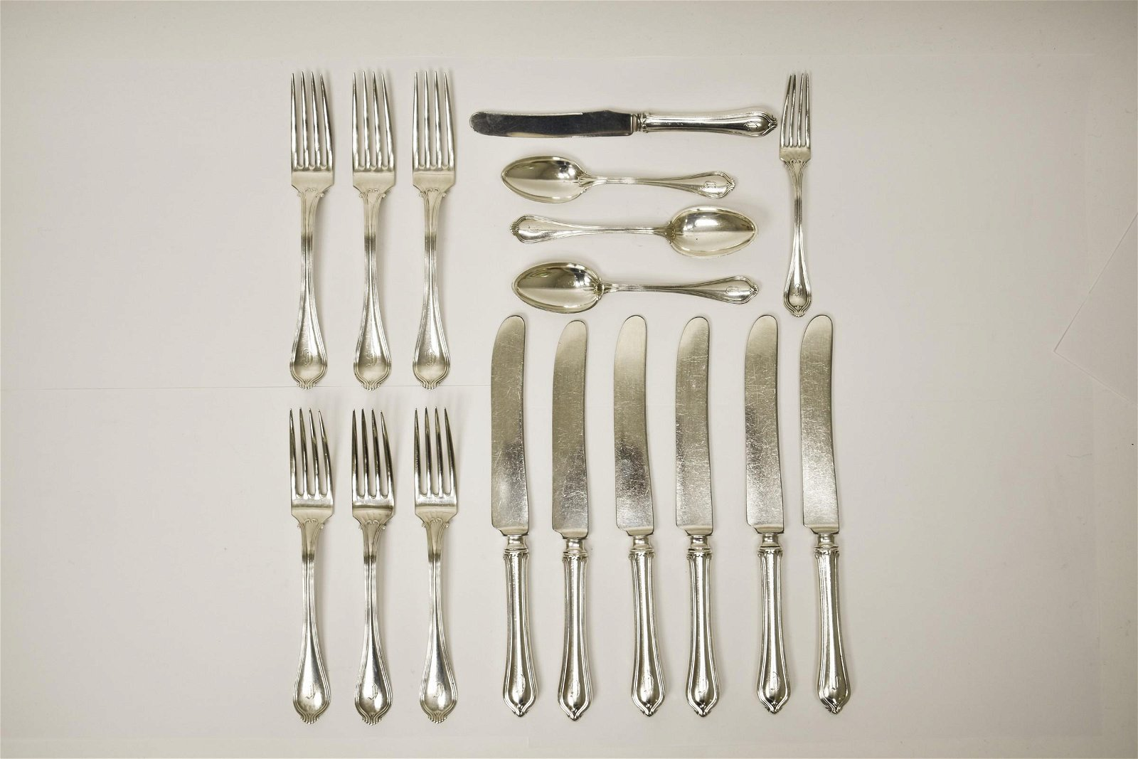 """Towle Silversmiths """"Paul Revere"""" Sterling Flatware."""