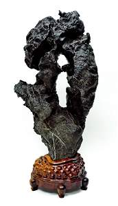 Xu Guodong Lingbi stone Sculpture.