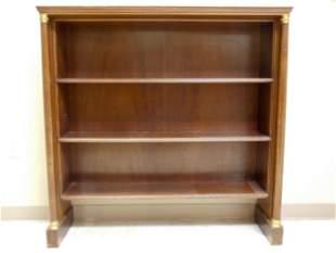 Contemporary Empire Style Mahogany Bookcase
