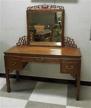 George Zee Oriental Rosewood Dressing Table