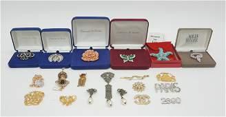 Group of Designer Costume Jewelry incl. Camrose &