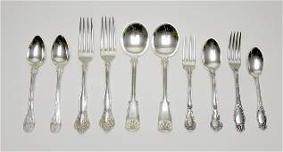 Group of Assorted Sterling Silver Flatware.