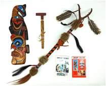 Group Native American Souvenirs