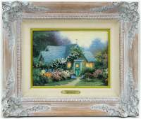 Thomas Kinkade Canvas Lithograph Weathervane Hutch