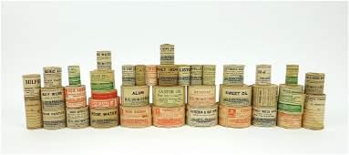 Large Quantity of Vintage Apothecary Bottle Label