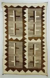 Navajo Handwoven Wool Blanket.