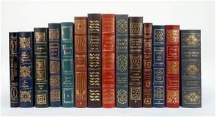 14 Easton Press Leather Bound Books