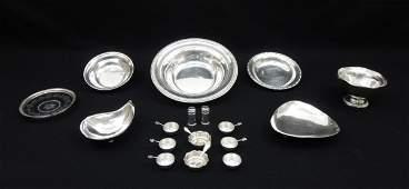 Group of Sterling Silver Tableware.