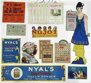 Collection of Vintage Advertising Signs & Ephemera.