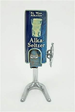Vintage Alka-Seltzer Drug Store Dispenser.