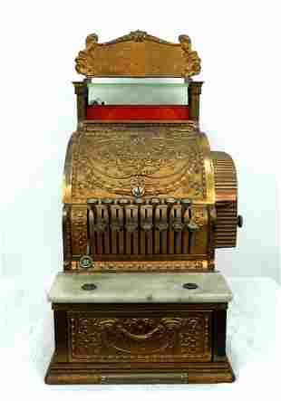 Antique National Candy Store Cash Register.