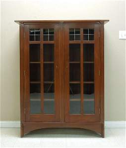 Stickley Arts & Crafts Style Bookcase.