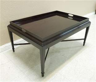 "Baker ""Barbara Barry"" Rectangular Coffee Table."