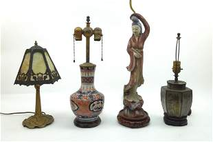 Group of 4 Table Lamps.