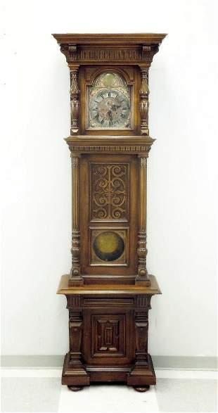 Josef Neumann Wien Grandfather Clock