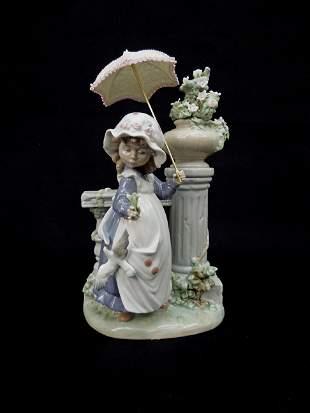 Lladro Porcelain Figure, Glorious Spring.