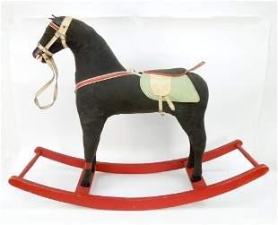 Child's Rocking Horse, Circa 1910.