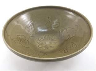Chinese Linru Kiln Bowl, Song Dynasty.