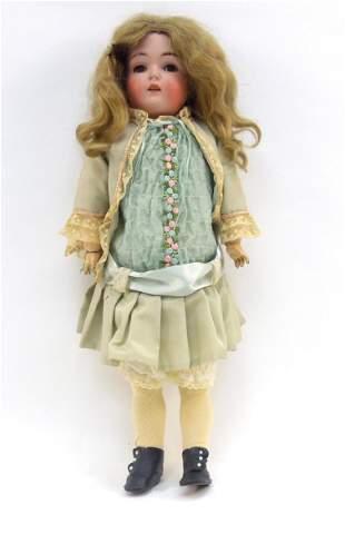 German Bisque Head Doll, 171.