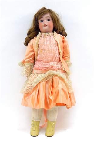Simon Halbig 1078 Bisque Head Doll.
