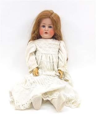 J.D. Kestner 249 Bisque Head Doll.