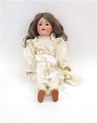 J.D. Kestner 260 Bisque Head Doll.