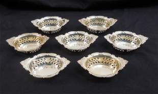 (7) Gorham Sterling Silver Nut Dishes.
