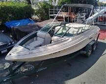 1996 Mariah Shabah 200 Motorboat and Trailer.