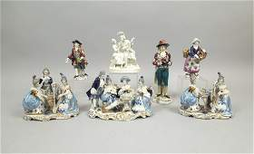 Group of Continental Porcelain Figures.