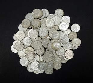 (100) Kennedy 1964 Silver Half Dollars.