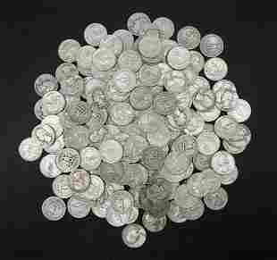 (160) U.S. Silver Quarters.