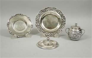(4) Peruvian Sterling Silver Items.