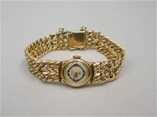 K Gold Silvana Wristwatch & Bracelet.