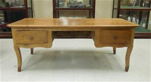 Late 19th /Early 20th C. French Country Pine Desk.