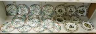 Wedgwood & Continental Porcelain Plates.