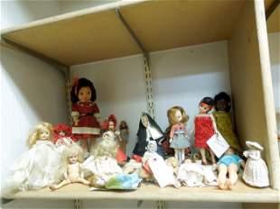 Group of Antique & Vintage Dolls.