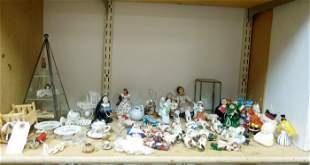 Miniature Dolls, Figurines & Dollhouse Furniture.