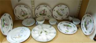 Group of Quimper Pottery Items.