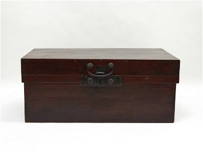 Chinese Lacquered Camphor Chest.