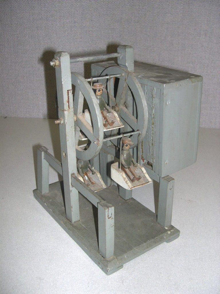 20: Circa 1900 Clockwork Ferris Wheel