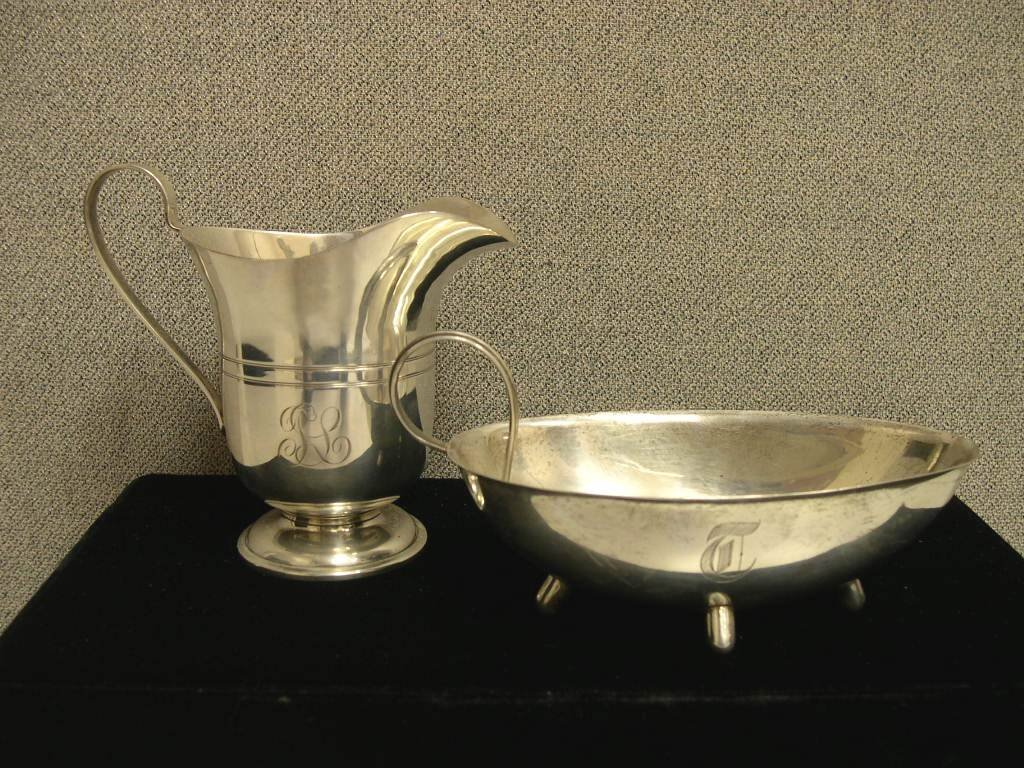 2: (2) pieces of Sterling Silver tableware